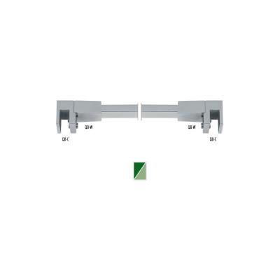 QB-8 Barra di sicurezza 90° vetro/vetro